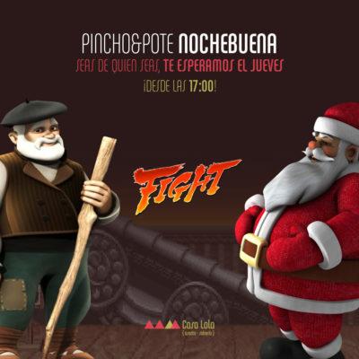 Pinchopote Nochebuena (dic 2015)