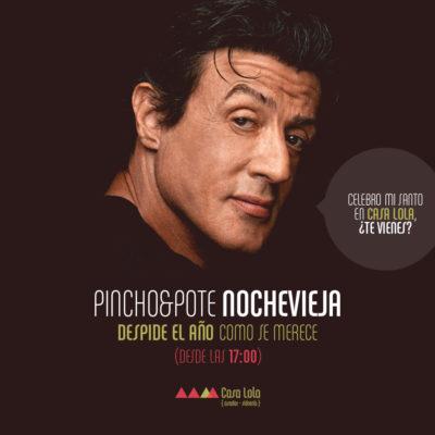 Pinchopote Nochevieja (dic 2015)