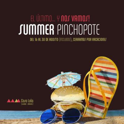 Pinchopote Summer (ago 2016)